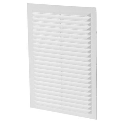 Купить Решетка вентиляционная вытяжная АБС 1724С 170х240 мм цвет белый дешевле