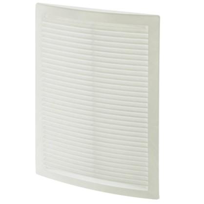 Купить Решетка вентиляционная вытяжная АБС 2030РЦ 200х300 мм цвет белый дешевле