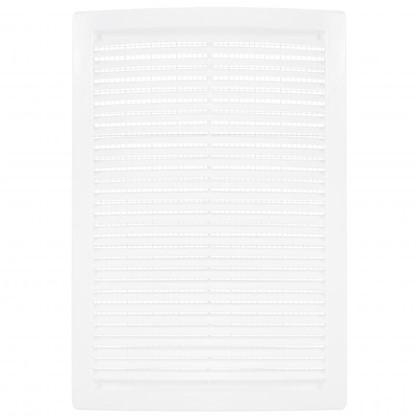 Решетка вентиляционная вытяжная АБС 2030РЦ 200х300 мм цвет белый