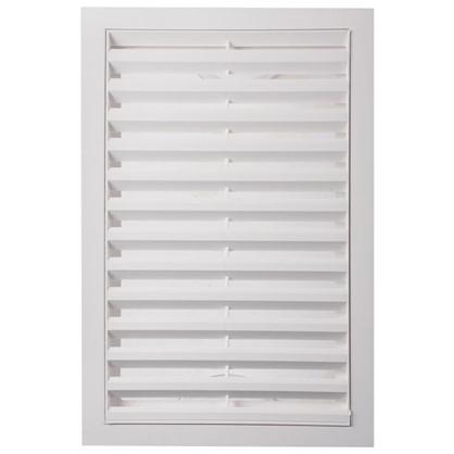 Купить Решетка вентиляционная вытяжная АБС 2030РР 200х300 мм цвет белый дешевле
