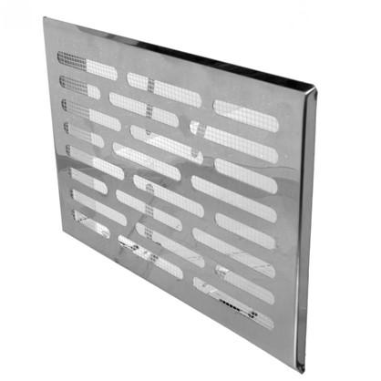 Купить Решетка вентилящионная Awenta M3N 140х210 мм цвет металлик дешевле