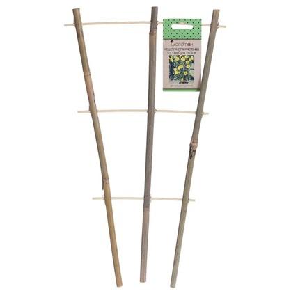 Решётка для вьющихся растений h45 см d10/12 мм бамбук
