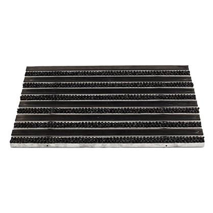 Решетка придверная 390х590 мм резина/текстиль