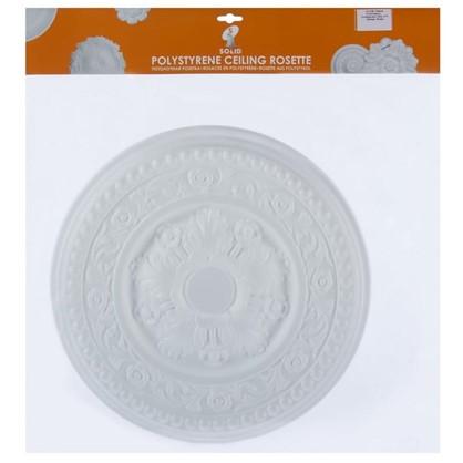 Потолочная розетка инжекционная 38 см C310/38 полистирол