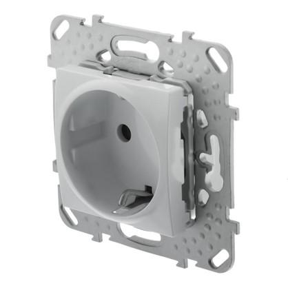 Розетка Schneider Electric Unica с заземлением цвет белый