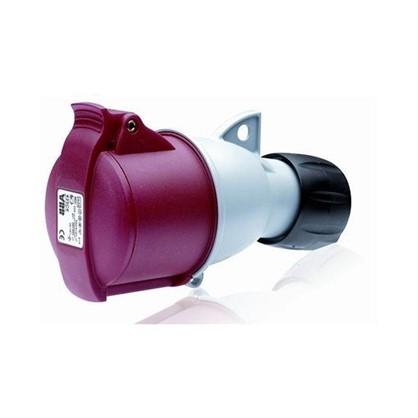 Купить Розетка силовая ABB ICAT ноль заземление 32 А 380 В дешевле