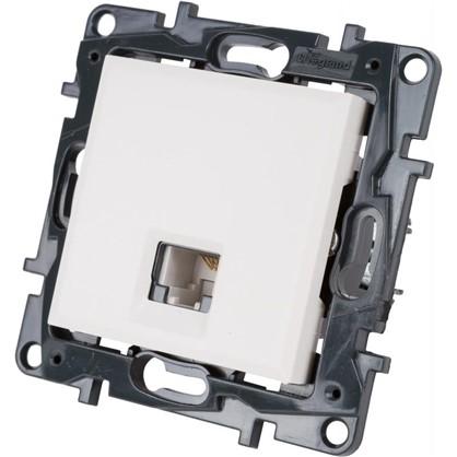 Купить Розетка телефонная Legrand Structura RJ11 цвет белый дешевле
