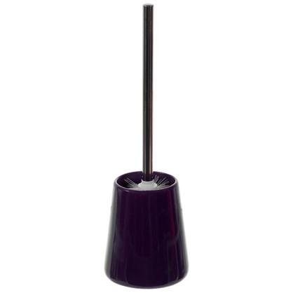 Ершик для унитаза напольный Veta керамика цвет фиолетовый