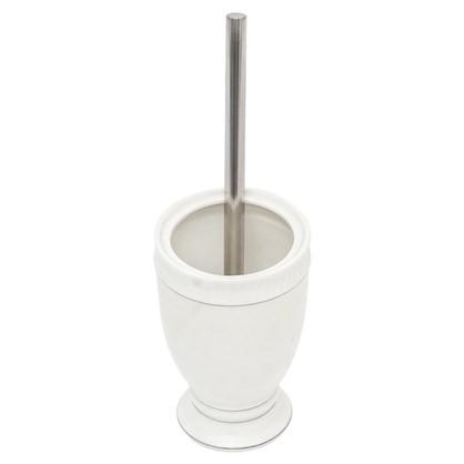 Ершик для унитаза напольный Wess Elegance керамика цвет белый