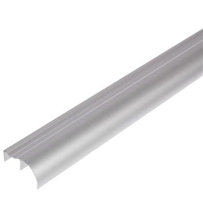 Ручка ассиметричная для ЛДСП 16 мм 2.7 м цвет серый