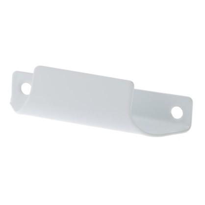 Ручка балконная Palladium C притворная металл цвет белый