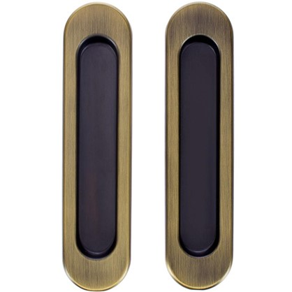 Ручка для раздвижных дверей с механизмом SH010-BK WAB-11 цвет матовая бронза