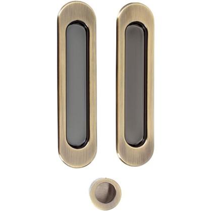 Ручка для раздвижных дверей SH010-AB-7 цвет бронза