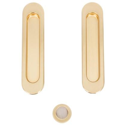 Ручка для раздвижных дверей SH010-SG-1 цвет матовое золото
