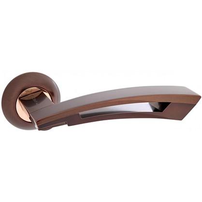 Ручка дверная на розетке Apecs Premier H-0592-Z-DC алюминий цвет темная медь
