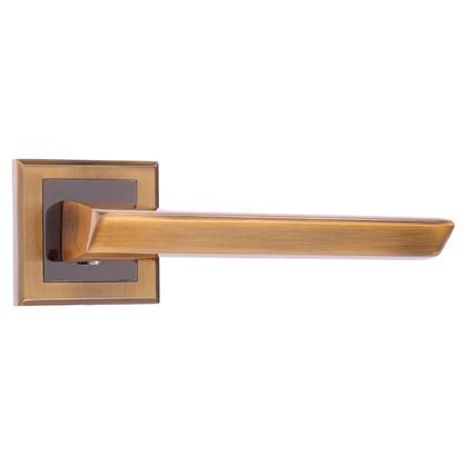 Купить Ручка дверная на розетке Bussare Aspecto A-64-30 алюминий цвет кофе дешевле