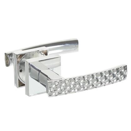 Купить Ручка дверная на розетке CRYSTAL STAR DM/HD CP-8 цвет хром дешевле