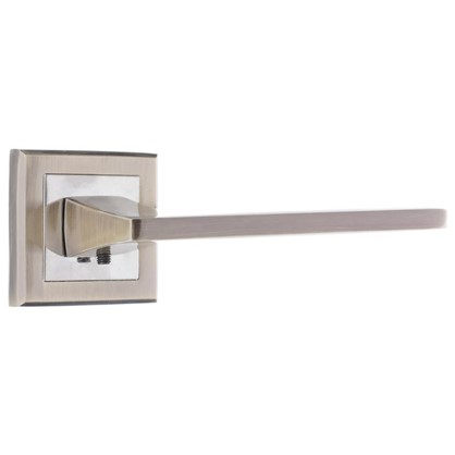 Ручка дверная на розетке Фабрика замков A 201 цвет античная бронза