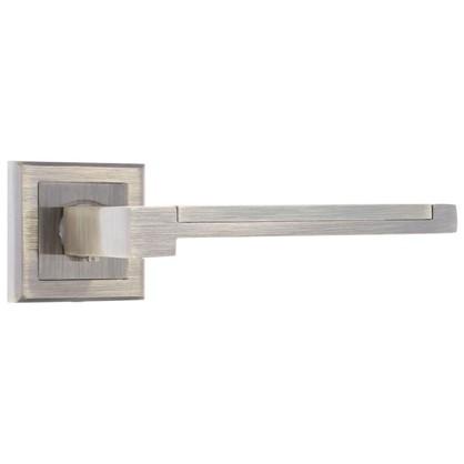 Ручка дверная на розетке FTZ25-E25 цвет античная бронза