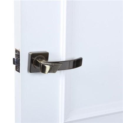 Ручка дверная на розетке Лари цвет античная бронза