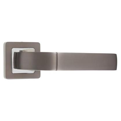Купить Ручка дверная на розетке ORION QR/HD GR/CP-23 цвет графит/хром дешевле