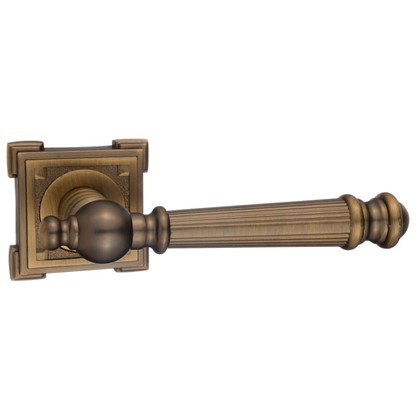 Ручка дверная на розетке Валенсия цвет кофе цена