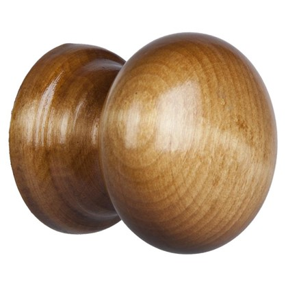 Ручка-кнопка без механизма ЙО-Дуб дерево