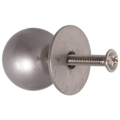 Купить Ручка-кнопка Boyard RC006SN металл цвет матовый никель дешевле