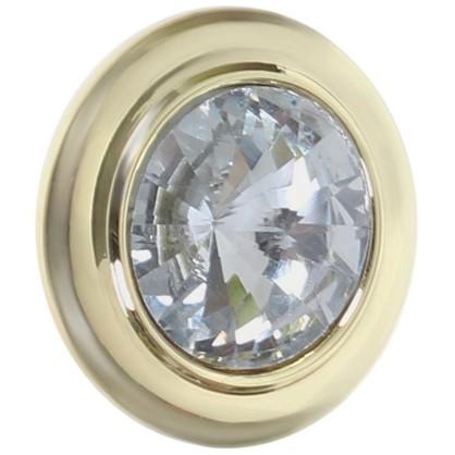 Купить Ручка-кнопка CRL35 ЦАМ цвет золото дешевле