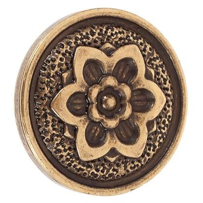 Ручка-кнопка FB-019 000 цвет бронза полированная