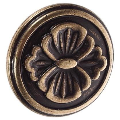 Купить Ручка-кнопка FB-025 000 цвет бронза полированная дешевле