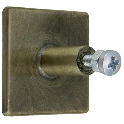 Ручка-кнопка Kerron RK-031 металл цвет бронза