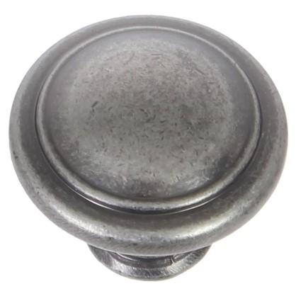 Купить Ручка-кнопка RK-097 ЦАМ цвет старинный черный цинк дешевле