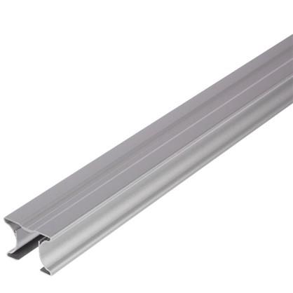 Ручка симметричная для ЛДСП 16 мм 2.7 м цвет серый