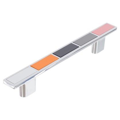 Ручка-скоба Boyard RS282CP/MC5.4 128 мм металл цвет глянцевый хром