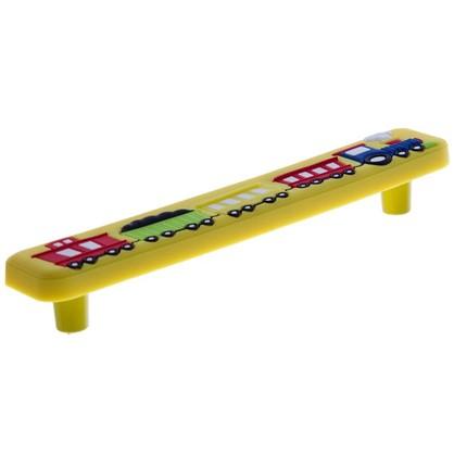 Купить Ручка-скоба Jet 610 128 мм цвет желтый дешевле