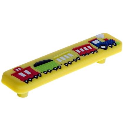 Купить Ручка-скоба Jet 610 96 мм цвет желтый дешевле