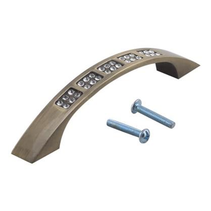 Купить Ручка-скоба Kerron CRL04 96 мм металл цвет бронза дешевле