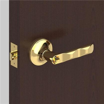 Купить Ручка-защелка 624/BL PB-E с фиксатором с ключом цвет золото дешевле