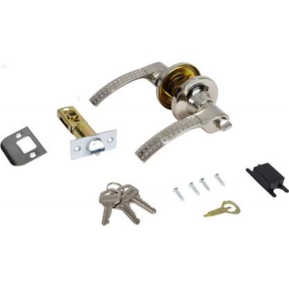 Ручка-защелка 3903 SN ET с ключом и фиксатором цвет матовый никель