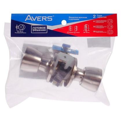 Ручка-защелка Avers 0590-03-NI с фиксатором сталь цвет никель