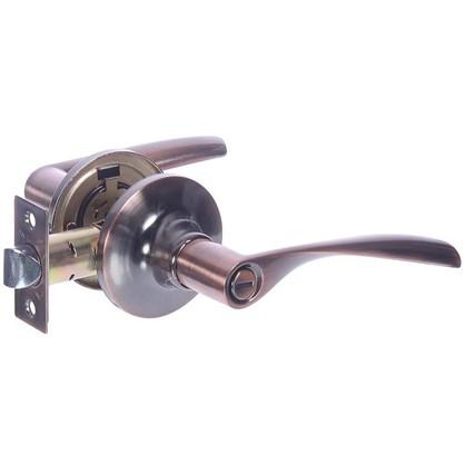 Ручка-защелка Avers 8023-03-AC с фиксатором сталь цвет старая медь