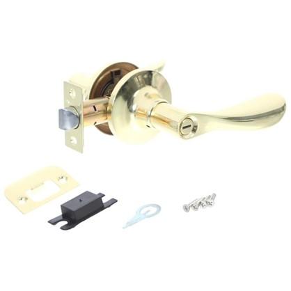 Купить Ручка-защелка Avers 8091-03-G с фиксатором сталь цвет золото дешевле