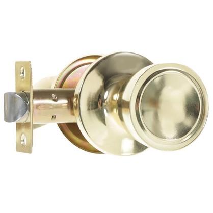 Ручка-защелка Фабрика Замков 7072E PB PS без фиксации цвет глянцевое золото