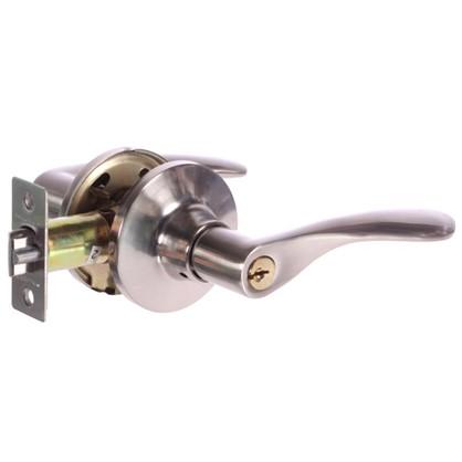 Ручка-защелка Palladium 3901 SN ET с ключом и фиксатором ЦАМ цвет матовый никель