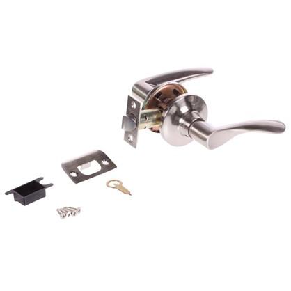 Купить Ручка-защелка Palladium 3901 SN PS без запирания ЦАМ цвет матовый никель дешевле