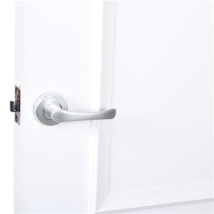 Ручки дверные на розетке E 016-S цвет хром