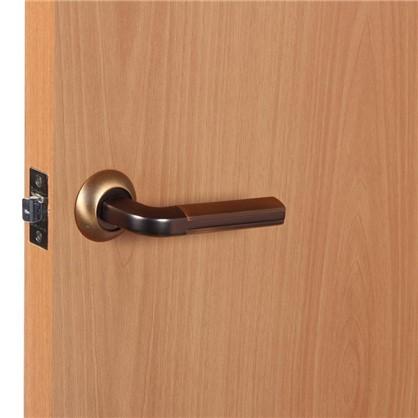 Ручки дверные на розетке EDS-A193 цвет кофе