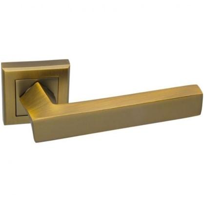 Ручки дверные на розетке EDS-Q306 цвет кофе