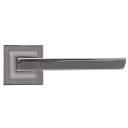 Ручки дверные Windrose Borey H-18105-А-BN цвет графит